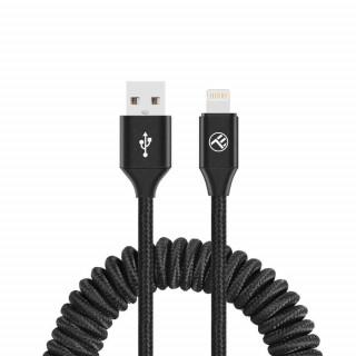 Cablu Tellur Extensibil USB to Lightning 3A 1.8m Negru Tellur - 1