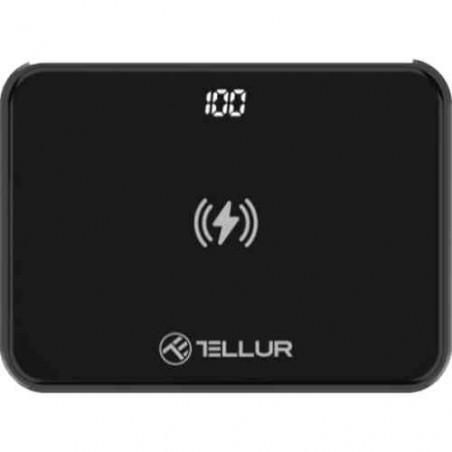 Baterie Externa Tellur TLL158251 GPD100 10000mAh Grafen Qi 2xQC3.0 PD Negru Tellur - 1