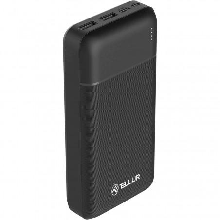 Baterie Externa Tellur TLL158261 PBC202 20000mAh 2xUSB Type-C MicroUSB Negru Tellur - 1