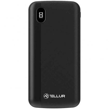 Baterie Externa Tellur TLL158231 PD100 10000mAh 2xQC3.0 PD 18W Negru Tellur - 1