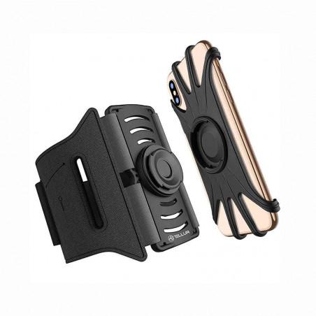 Suport Telefon Detasabil Tellur A100 4 inch-6.5inch Pentru Brat Tellur - 1