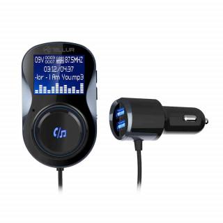 Modulator FM Tellur FMT-B4 Bluetooth MicroSD USB QuickCharge 3.0 Negru Tellur - 1