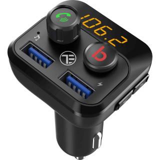 Modulator FM Bluetooth Tellur FMT-B8 USB MicroSD 2.4 A ExtraBass Tellur - 1