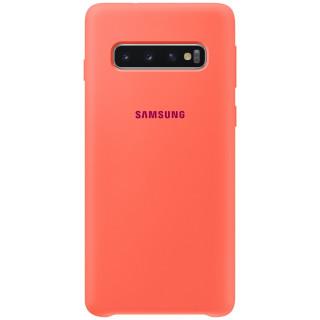 Husa Samsung Silicone EF-PG973THEGWW Galaxy S10 Berry Pink Samsung - 1
