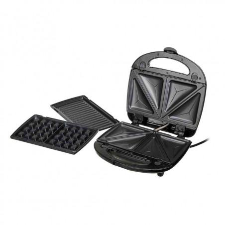 Aparat Sandwich-Sanwichmaker 3in1 Camry CR3024 cu Placi Interschimbabile pentru Pregatire Waffe Grill si Sandwich Camry - 1
