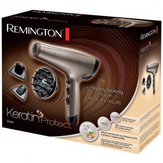 Uscator de Par Remington Keratin Protect AC8002 2200W 3 Trepte Temperatura 2 Viteze Cool Shot Difuzor Volum Auriu Remington - 1
