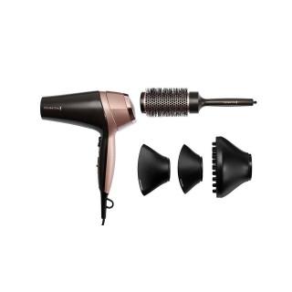 Uscator de Par Remington Curl & Straight Confidence D5706 2200W Duza Ondulare Perie Gri-Roz Remington - 1