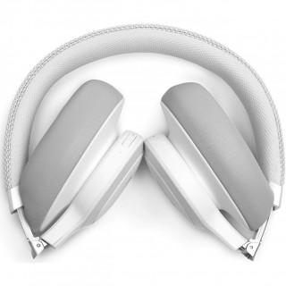 Casti Audio Over the Ear JBL Live 650, Wireless, Bluetooth, Noise cancelling, Autonomie 30 ore, Alb JBL - 4