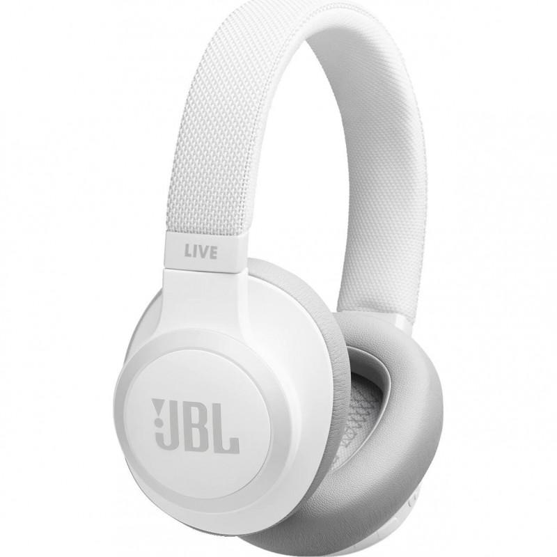 Casti Audio Over the Ear JBL Live 650, Wireless, Bluetooth, Noise cancelling, Autonomie 30 ore, Alb JBL - 1