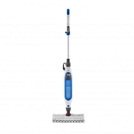 Mop Electric cu Aburi Shark S6001EU 1050W 350ml 2.7Kg Tehnologie Klick'n Flip Steam Blast Mode Mop cu 2 Fete Alb Albastru - 1