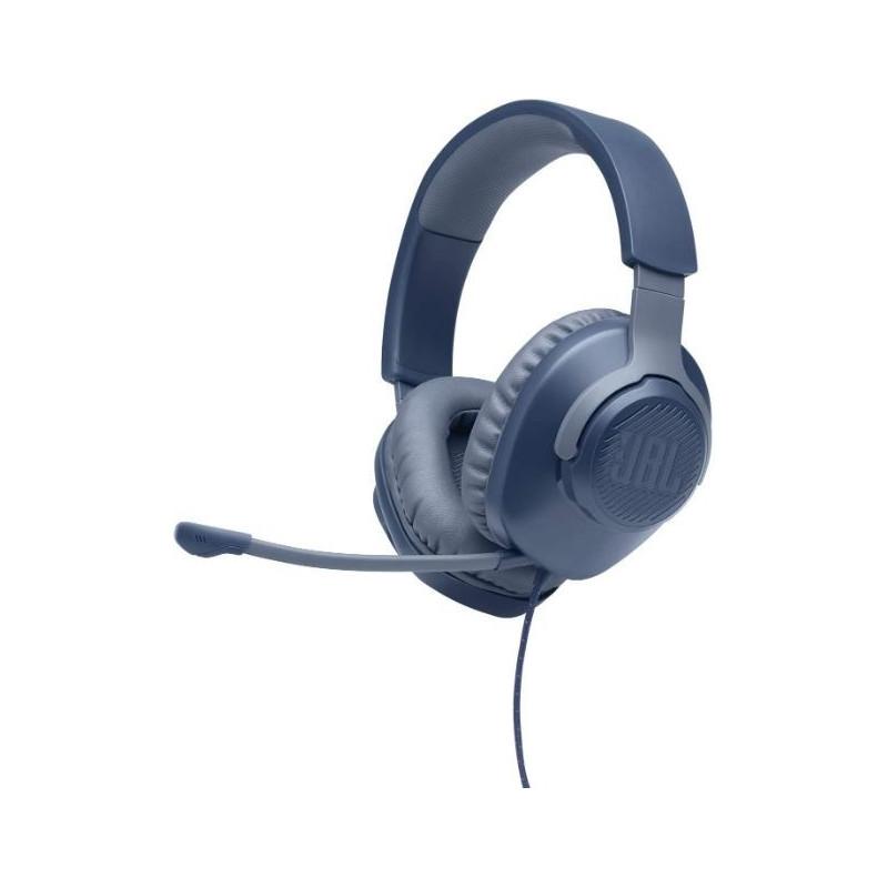 Casti Over Ear Gaming JBL Quantum 100 Blue JBL - 1