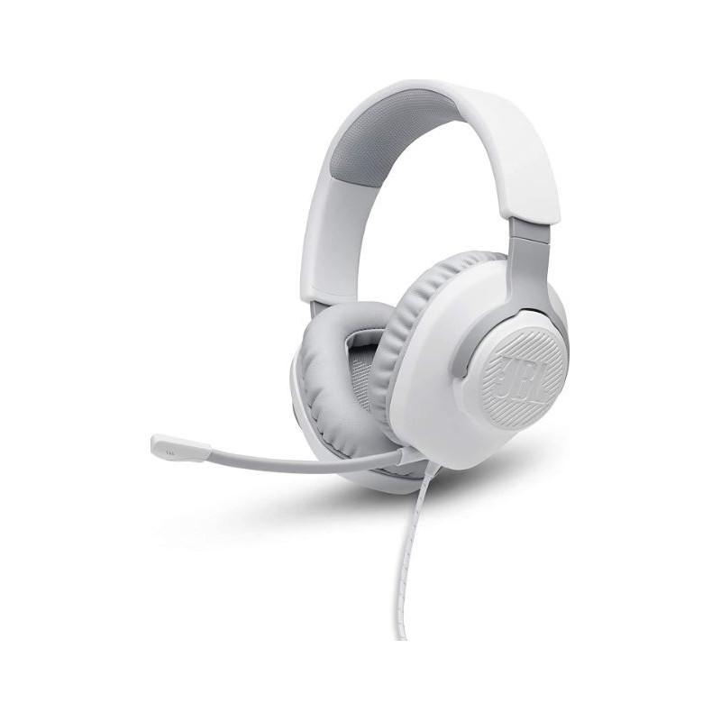 Casti Over Ear Gaming JBL Quantum 100 White JBL - 1