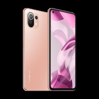 Telefon Mobil Xiaomi 11 Lite 5G NE 128GB 6GB RAM Peach Pink Xiaomi - 1