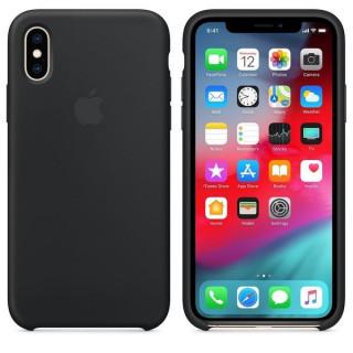Husa Apple iPhone XS MAX MRWE2ZM/A Black Apple - 3