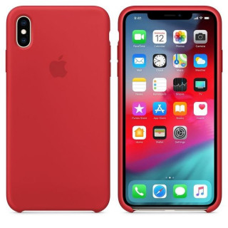 Husa Apple iPhone XS MAX MRWH2ZM/A Red Apple - 3