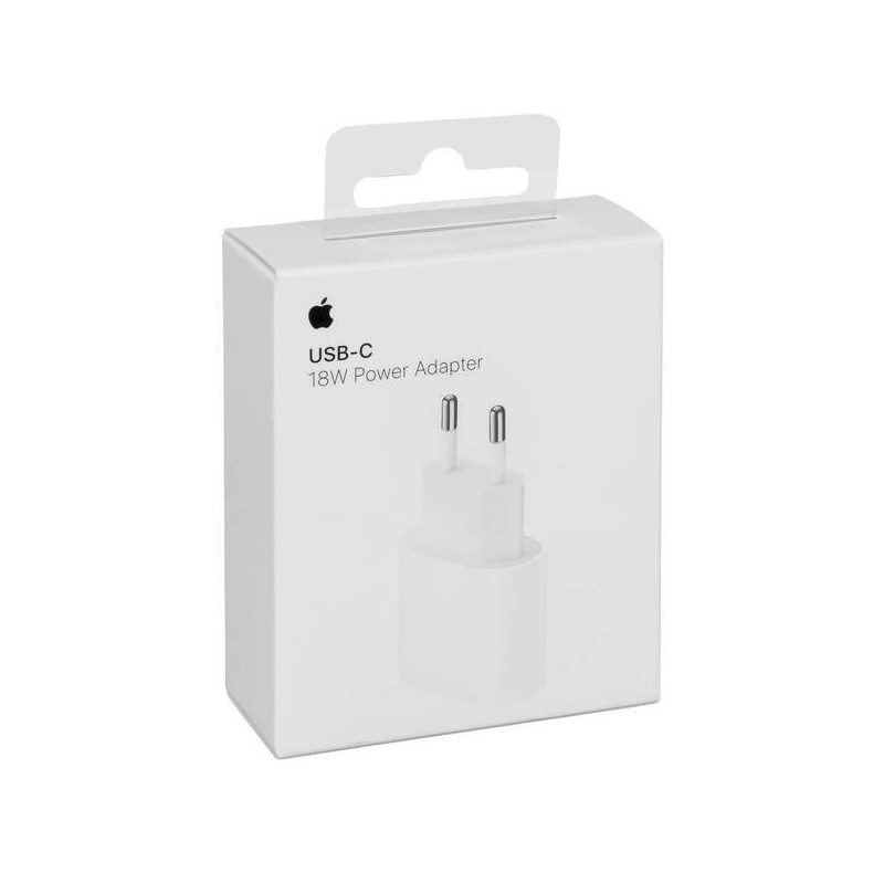 Incarcator Apple MU7V2ZM/A USB Type-C 18W Blister White Apple - 1