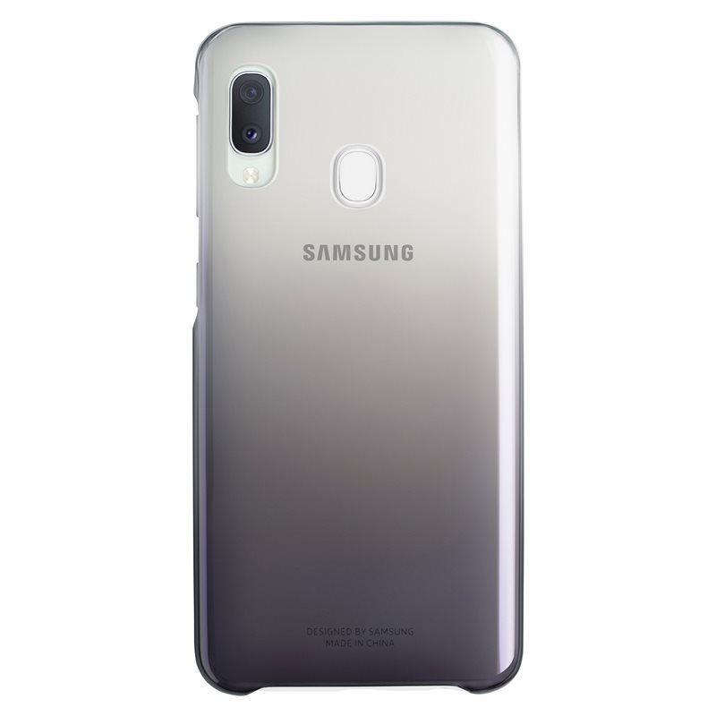Husa Samsung Gradation Cover EF-AA202CBEGWW Galaxy A20e (2019) Neagra Samsung - 1