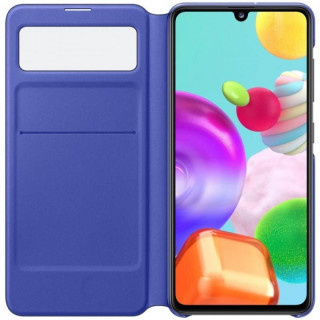 Husa Samsung S-View Wallet Cover EF-EA415PBEGEU Galaxy A41 Negru Samsung - 3