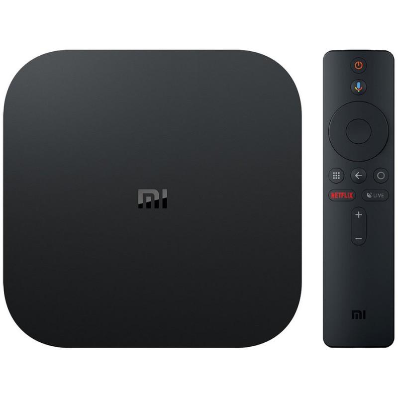 Mediaplayer Xiaomi Mi TV Box S 4K HDR Google Assistant Black Xiaomi - 1