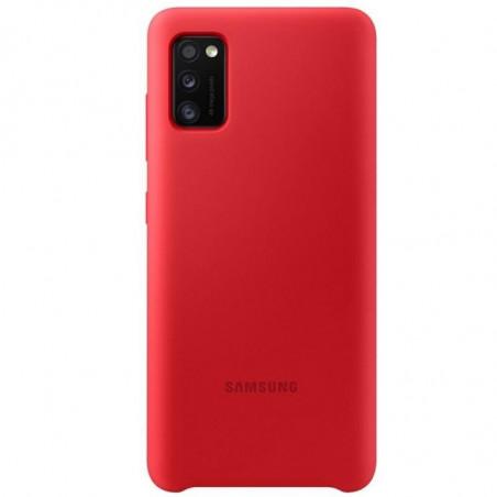 Husa Samsung Silicone Cover EF-PA415TREGEU Galaxy A41 Rosu Samsung - 1
