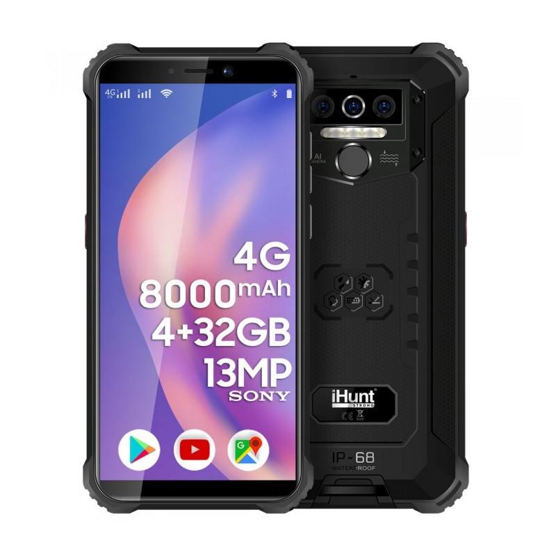 Telefon mobil iHunt TITAN P8000 PRO 2021 32GB 4G Dual Sim Black iHunt - 1