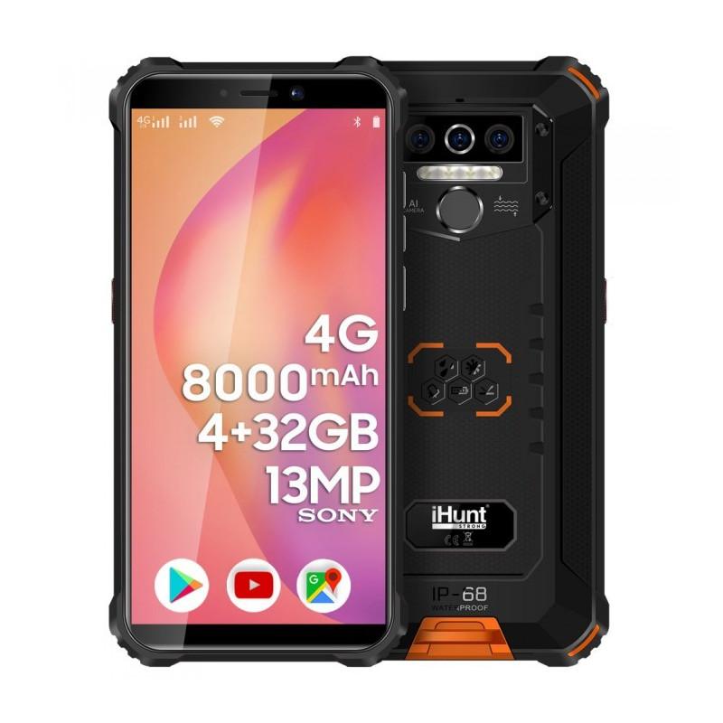 Telefon mobil iHunt TITAN P8000 PRO 2021 32GB 4G Dual Sim Orange iHunt - 1
