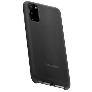 Husa Samsung Silicone Cover EF-PG980TBEGEU Galaxy S20 Neagra Samsung - 4