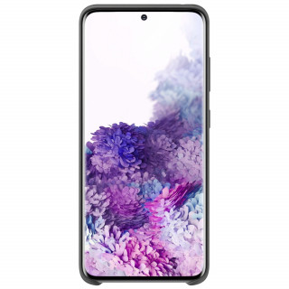 Husa Samsung Silicone Cover EF-PG980TBEGEU Galaxy S20 Neagra Samsung - 3