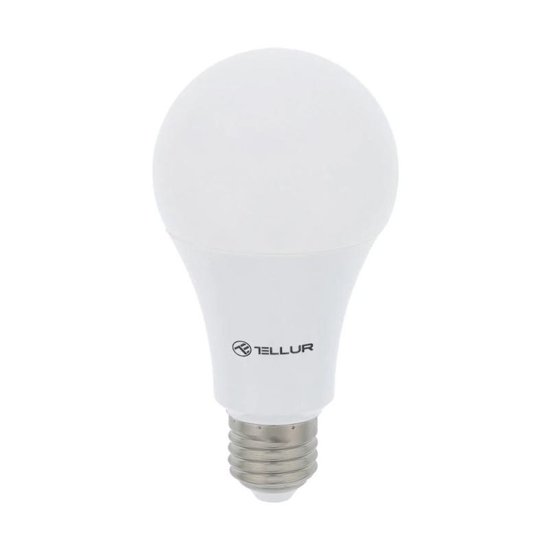 Bec inteligent LED Tellur Wireless E27 10W 1000lm Lumina Alba Calda Reglabil Tellur - 1