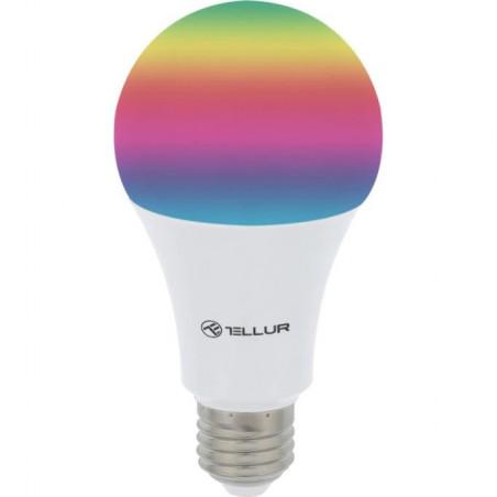 Bec inteligent LED Tellur Wireless E27 10W 1000lm Lumina Alba Calda RGB Reglabil Tellur - 1