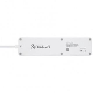 Prelungitor Smart Tellur Wireless 3 Prize 2200W 4 x USB White Tellur - 3