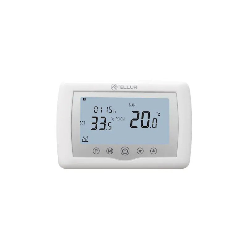 Termostat Smart Tellur WiFi Centrala Gaz Universal White Tellur - 1