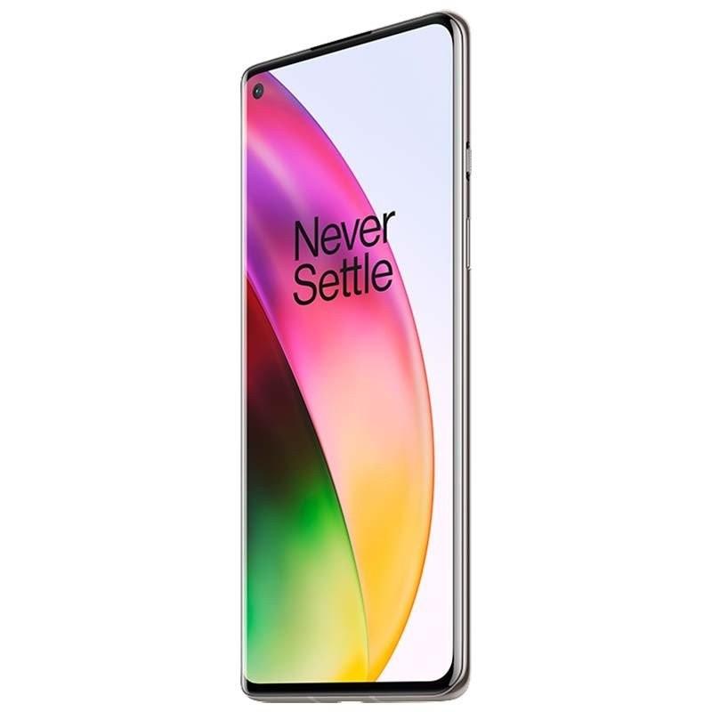 Telefon mobil OnePlus 8 Dual Sim 256GB 12GB RAM 5G Interstellar Glow OnePlus - 1