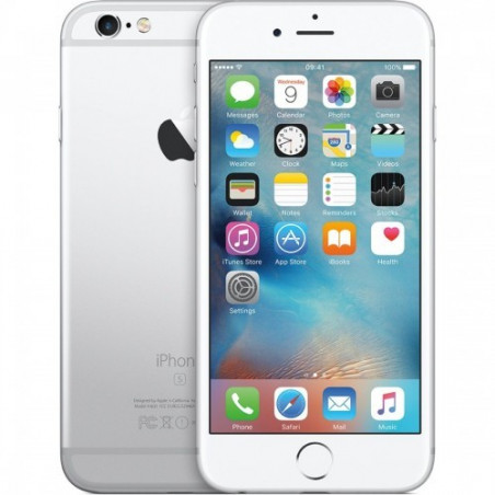 Telefon Mobil Apple iPhone 6S 32GB A Grade Silver Refurbished Apple - 1