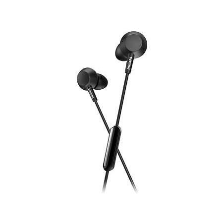 Casti Philips TAE4105BK In ear cu microfon, negru Philips - 1