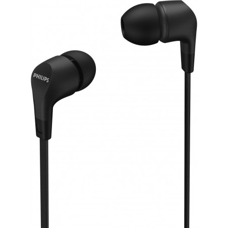 Casti Philips TAE1105BK In ear cu microfon negru Philips - 1