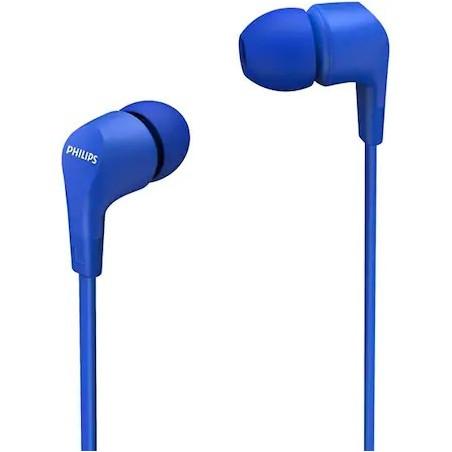 Casti Philips TAE1105BL In ear cu microfon albastru Philips - 1