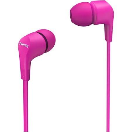 Casti Philips TAE1105PK In ear cu microfon roz Philips - 1