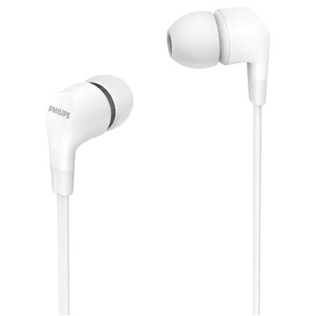 Casti Philips TAE1105WT In ear cu microfon Alb Philips - 1