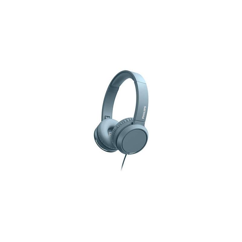 Casti Philips TAH4105BK Over ear cu microfon Albastru Philips - 1