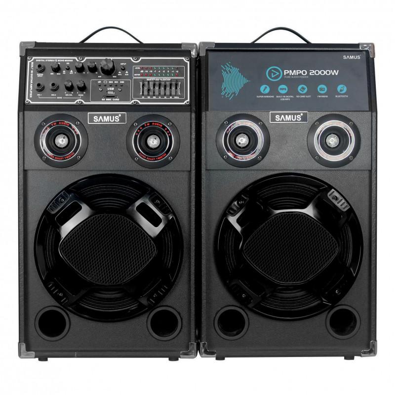 Set Boxe Audio Samus Twin Sound 10 Black Samus - 1