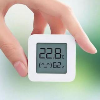 Senzor de temperatura si umiditate Xiaomi Mi 2 cu afisaj digital Bluetooth Smart Home White Xiaomi - 1