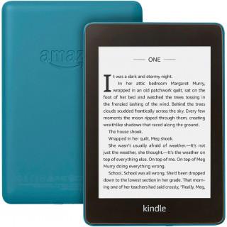 eBook Reader Kindle Paperwhite 2018 300 ppi Rezistent la apa 8GB Blue Amazon - 2