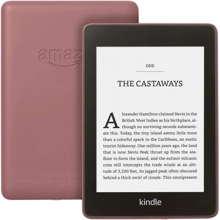 eBook reader Kindle Paperwhite 2018 300 ppi rezistent la apa 32GB Plum Amazon - 1