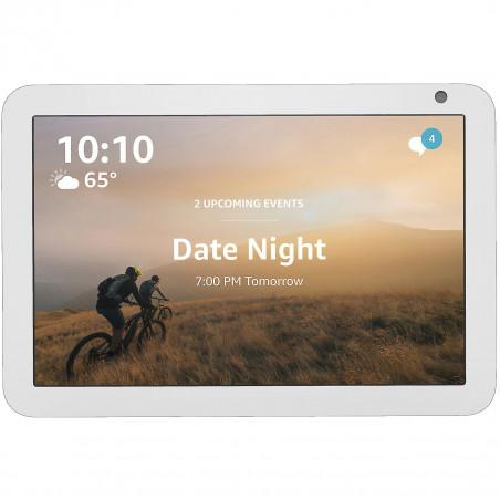 Boxa Inteligenta Amazon Echo Show 8 HD touchscreen 8.0 Camera 1MP 10W Wi-Fi Microfon Alb Amazon - 1