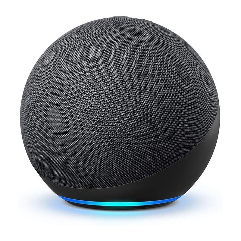 Boxa Smart Amazon Echo 4 Generation cu Alexa Dolby Audio Charcoal Amazon - 1