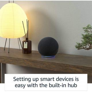 Boxa Smart Amazon Echo 4 Generation cu Alexa Dolby Audio Charcoal Amazon - 4