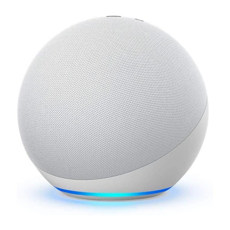Boxa Inteligenta Amazon Echo 4 Generation cu Alexa Dolby Audio White Amazon - 1