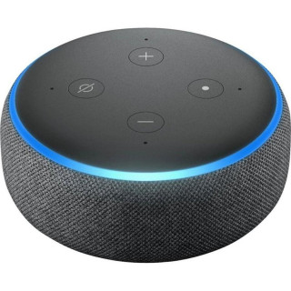 Boxa Smart Amazon Echo Dot 3 Alexa Bluetooth Wi-Fi Charcoal Amazon - 2