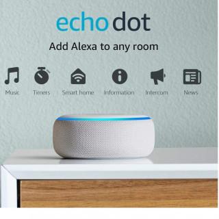 Boxa Smart Amazon Echo Dot 3 Alexa Wi-Fi Bluetooth Sandstone Amazon - 4